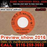 Rare Northern Soul 2016 Preview With Steve Jeffries Call 01162593602 all records for sale