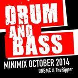 Drum n Bass X-Mas Mix backtoback TheRipper