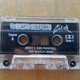 Andy C b2b Randall - Shabba, Fearless, Foxy , Fatman D, Skibba & Fun - Best of british 10 3 2000