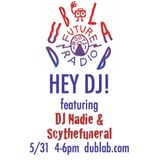 Boo w/guests DJ Nadie and Scythefuneral – Hey DJ (03.30.17)