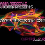 dj komma presents... April 2012 (trance/electro/house)