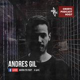 Oniryc Podcast #007 Andres GIl (Refluxed Records)