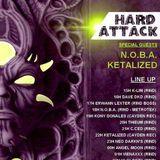 Dj VienaxXx - set hard attack (rind radio) 07/01/17