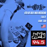 JAMN 94.5 - 4th of July Mixshow Weekend
