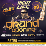 2017.09.09. - Grand Opening by NIGHTLIFE - Club Allure, Gyömrő - Saturday