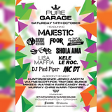 Pure Garage 14th October @ Starworks