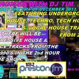 Energised With DJ Tim - 28/12/13/ - 103.2 Preston fm