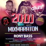 RONY BASS LIVE@CLUB ALLURE - 2016.01.23.