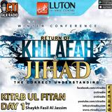 LWC - Kitbab ul Fitn Day 1 - Shaykh Faisal Al Jassim