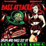 M$ VON DISKO - Bass Attacks! x Fokin Massive (Drum and bass set 2009)