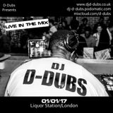 Live In The Mix part 1 - 01/01/17