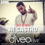 JR Castro mydiveo LIVE on Dash Radio