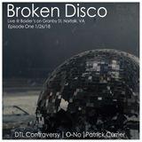 O-No Live at Broken Disco (Norfok, VA) 1_26_18