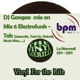 DJ Gaogao on BPM Mix (mix 6) Electrofunk, Tech, Techno us, Detroit 16/05/12 only Vinyl
