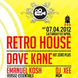 Dave Kane Live @ MGM Brussels - SPECIAL RETRO HOUSE - 07/04/2012