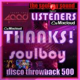 4000 listeners THANKS!! disco throwback 500 part1 no jingles or effects
