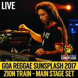 Zion Train ft. Brother Culture - Goa Sunsplash 2017 - Full Main Stage Set (LIVE)