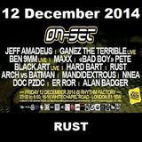 ON-SET London 12/12/14 Promo Mix – RUST