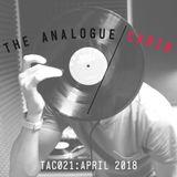 TAC021: The Analogue Cabin: April 2018
