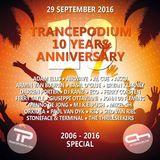 Armin van Buuren – TrancePodium 10th Anniversary Celebration – 29-SEP-2016