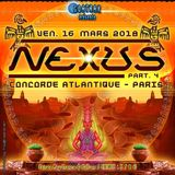 ZEPHYR DJ SET PSY TRANCE @ NEXUS PART IV 16.03.2018 CONCORDE ATLANTIQUE PARIS