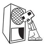 DJ Sueme aka Phil Wells (Subhead) @ UglyFunk - District Hackney - 05.08.2002