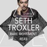 Seth Troxler - live at Secret Society (Palladium, Geneva) - 07-Sep-2016