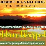 ADAM WARPED - Desert Island Digs (Strange Cargo / London)