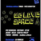 We Love Space @ La Rocca 03-05-2014