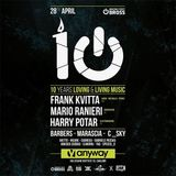 Mario Ranieri @ Anyway Club Cagliari, Italy 28.4.2018