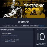 Gabriel Ben Presents Tektronic 096 (April 2017) with guest Gforty