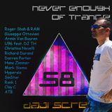 Never Enough of Trance episode 0058