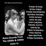 The Backwall Of Sound Retro Sounds From The 1950s & 1960s - Show 78