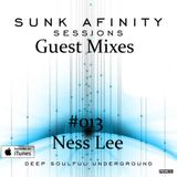 Sunk Afinity Sessions Guest Mixes #013 DJ Ness Lee
