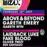 Gareth Emery – Live @ Cream Amnesia (Ibiza) – 12.07.2012
