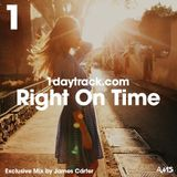 Exclusive Mix #40 | James Carter - Right On Time | 1daytrack.com