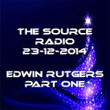 The Source Radio Edwin Rutgers 23-12-2014 part one