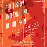 1er Festival Internacional de Theremin - Concierto Matinal - 25/8/2013