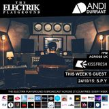 Electrik Playground 24/10/15 : S.P.Y Guest Session