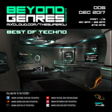 Beyond Genres with The Super DJ. Podcast 006 - Best of Techno part 1 (Dec 2017)