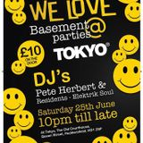 WE LOVE BASEMENT PARTY'S @ TOKYOS 25.6.16 PROMO Mix~ DJ BULLY