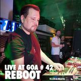 Reboot | Goa Año Nuevo | Nefertiti | 01 Enero 2014