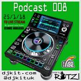DJKit Podcast 008 - FB Live Stream ft. Atomic Hooligan