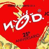 (4 horas) Kike Jaen @ 25 Aniversario N.O.D. (Moon Valencia 2014)