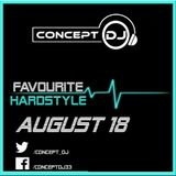 Concept - Favourite Hardstyle August 18 (10-08-2018)