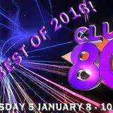 Club 80s on Radio Crash 5th January 2017 - The Best of 2016!