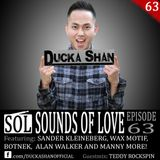Ducka Shan- Sounds of Love Ep. 63 Guestmix: Teddy Rockspin