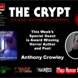 The Crypt Radio Show - The Home of Horror On Irish Radio (air date 18-2-16)