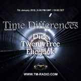 Eho Jack-Time Differences