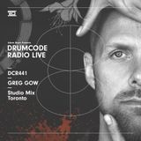 DCR441 – Drumcode Radio Live - Greg Gow Studio Mix recorded in Toronto, Canada